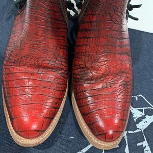 Freebird Red Croc JoJo